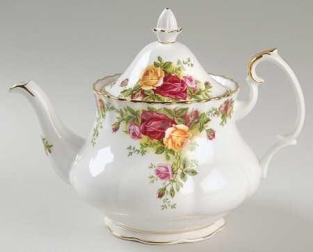 Royal Albert China Old Country Roses Small Tea Pot Amp Lid