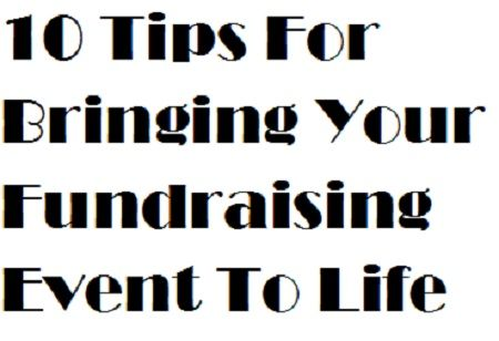 Organizing fundraising events differs from putting together your typical corporate event, and you face unique issues and pitfalls when planning them. Rave program reviews are generally the result of the blood, sweat, and tears you devote to the project.