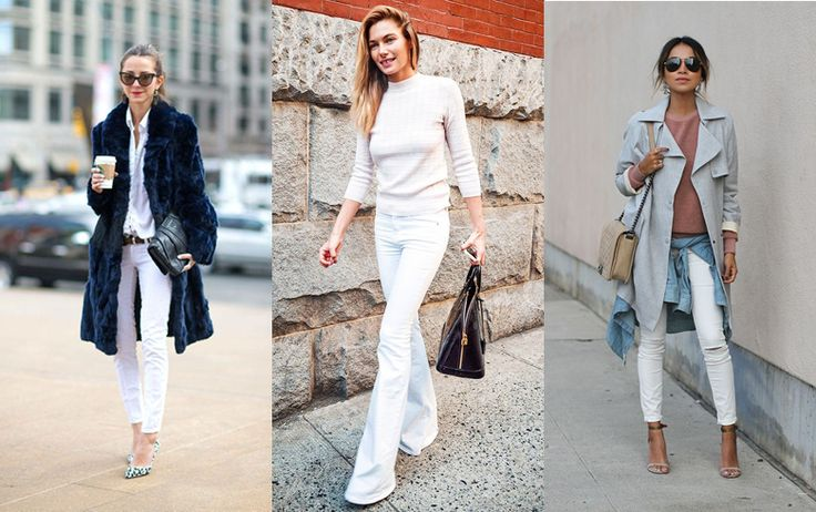 HOW TO WEAR: WHITE JEANS - Style magazine | Škola stylu BACKSTAGE