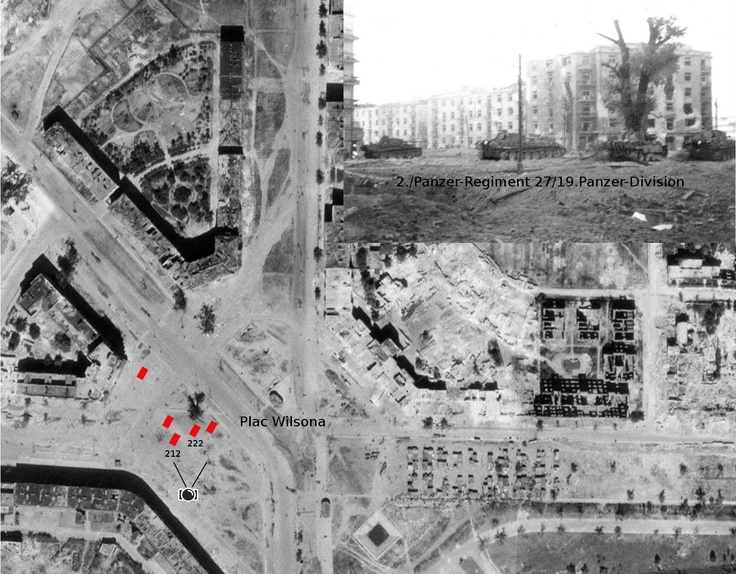 19.Panzer-Division in plac Wilsona.