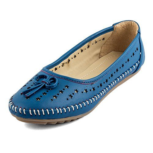 #Rosso Italiano Women's #Synthetic Leather Blue #Casual #Bellies(riw499bu4406)