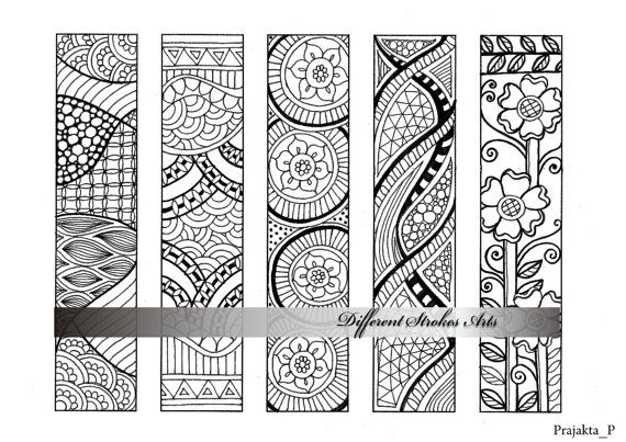 Cute Dieren Kleurplaten Bookmark Printable Coloring Pages Coloring Pages