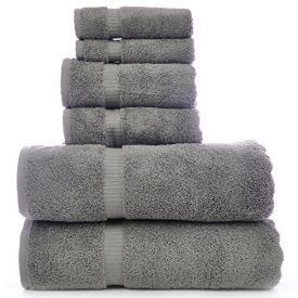 They are soft to the touch and become even softer after the first wash. These towels are also highly absorbent, durably made and long lasting. With a double stitch edge and natural dobby weave, these towels are an elegant addition to any bathroom. – Woven with 100% Ring Spun Egyptian Cotton– Set includes : 2 […]