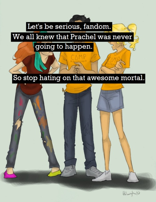 I've badmouthed Rachel so many times with my fandom friends, but deep inside, I think she's epic.