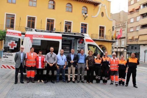 #IFUR colabora con Cruz Roja Alcantarilla, Murcia en la nueva ambulancia incorporando material sanitario y de monitorización de pacientes en traslados y en Soporte Vital Básico - SVB