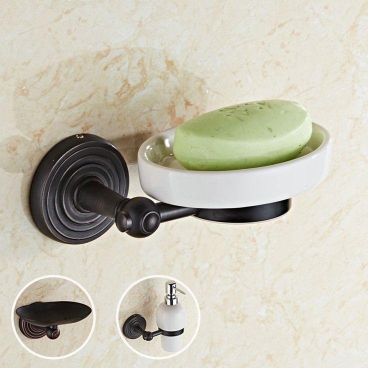 Black Soap Dish Antique Holder Brass Box Ceramic Tray Bathroom Accessories ( Dispenser/ Soap Dish & Holder) - ICON2 Luxury Designer Fixures  Black #Soap #Dish #Antique #Holder #Brass #Box #Ceramic #Tray #Bathroom #Accessories #( #Dispenser/ #Soap #Dish #& #Holder)