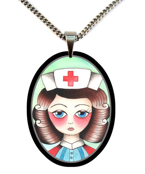 Florence Nightingale necklace by Jubly Umph