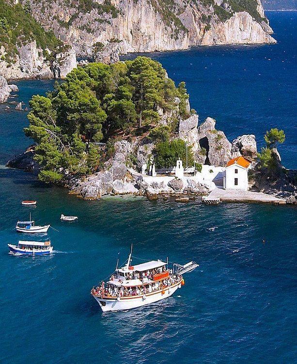 Island of Mary (Panagia) - Parga, Epirus, Greece