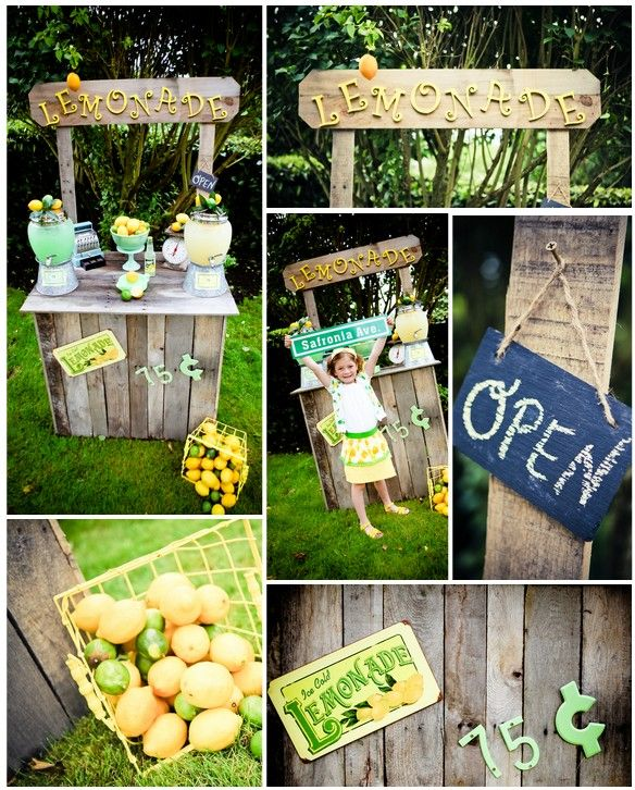 Lemonaide Stand!!! Can't wait for this. Some of my best summers were spent hustling lemons lol