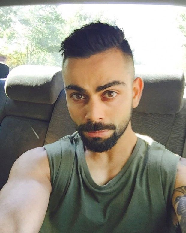 Virat Kohli Long Hairstyle In 2020 Virat Kohli Hairstyle Hair To One Side Side Hairstyles
