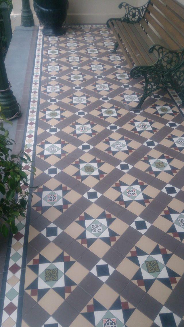 25 best ideas about Victorian mosaic tile on Pinterest