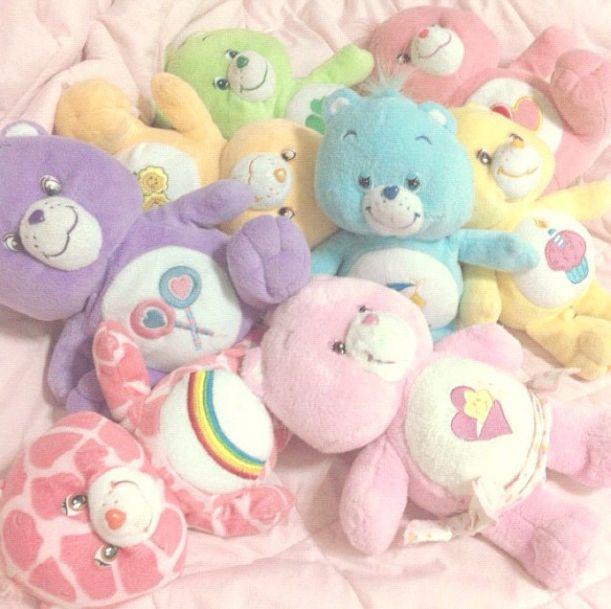 pastel baby toys