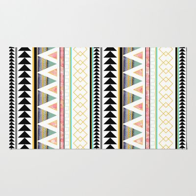 Aztec 3 Rug by Dream_scape - $28.00