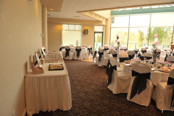 Floor to Ceiling Windows in our Wedding and Banquet Crystal Room