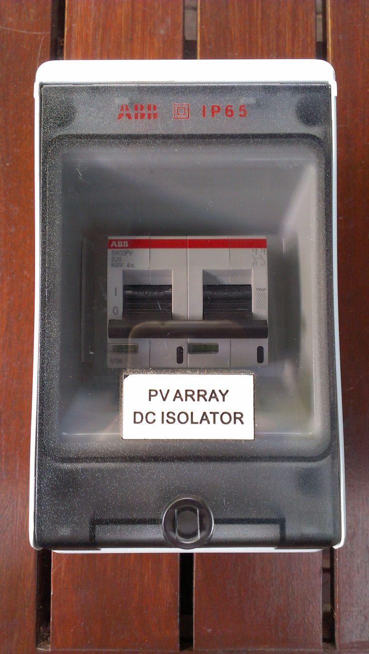 ABB DC circuit breakers