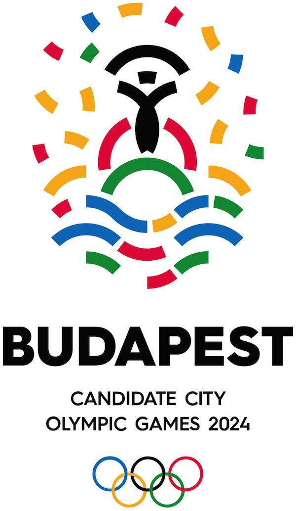 Budapest 2024 Olympic Games logo