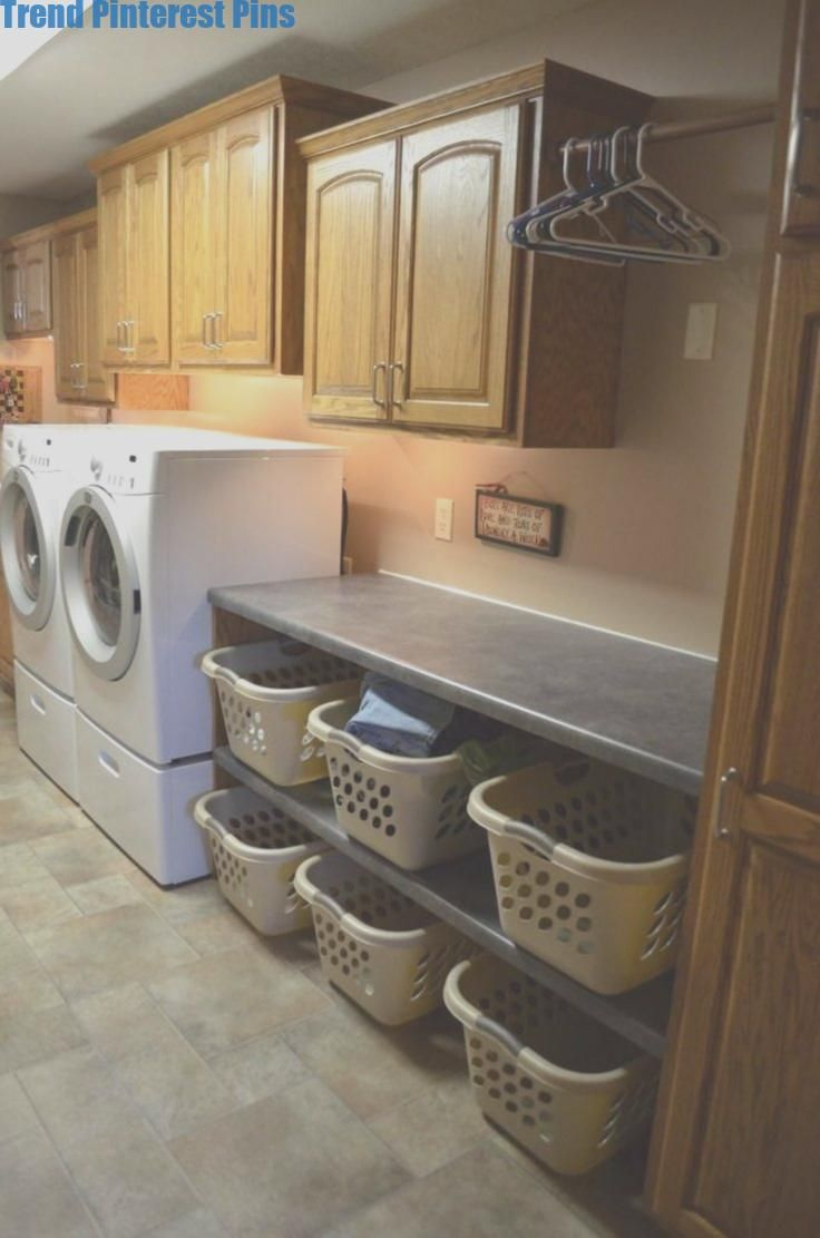 14+ Easy Laundry Room Organization Ideas #Organizationideas