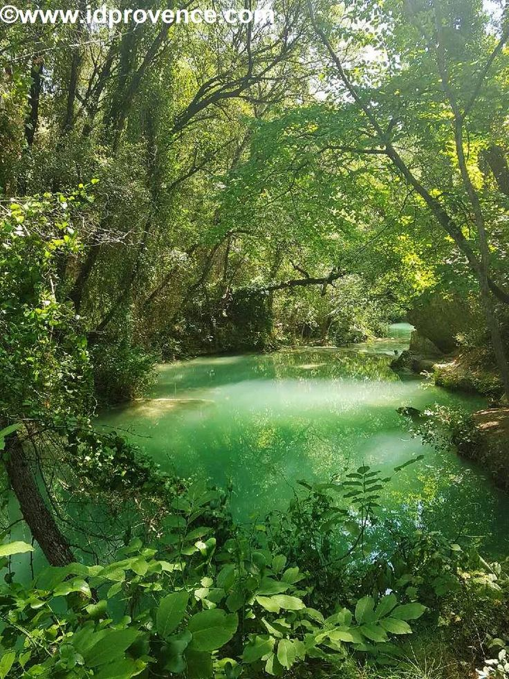 In der Grünen Provence gelegen, ist dieser Wasserfall mit seinem türkisblauen Becken und malerischen Ausläufen einen Ausflug wert. Eine Provence Sehenswürdigkeit wo baden möglich ist!