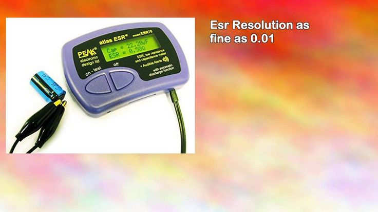 110 Best Capacitor Testing And Esr Resourses Images On