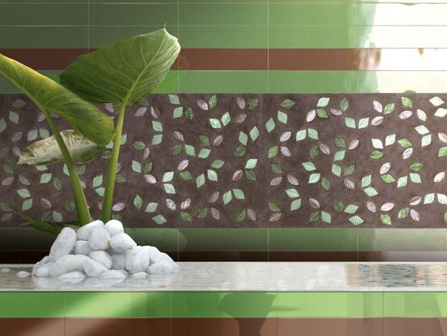 Espectaculares Mosaico de vidrio inspirados en las formas de la naturaleza , piedras , hojas , flores, etc  v MAS INFORMACION