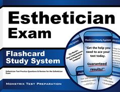 Esthetician Flashcards. Proven Esthetician test flashcards raise your score on the Esthetician test. Guaranteed.