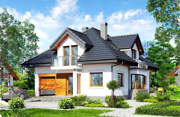 Casă de vis modernă cu garaj si etaj in suprafată de 130 m²