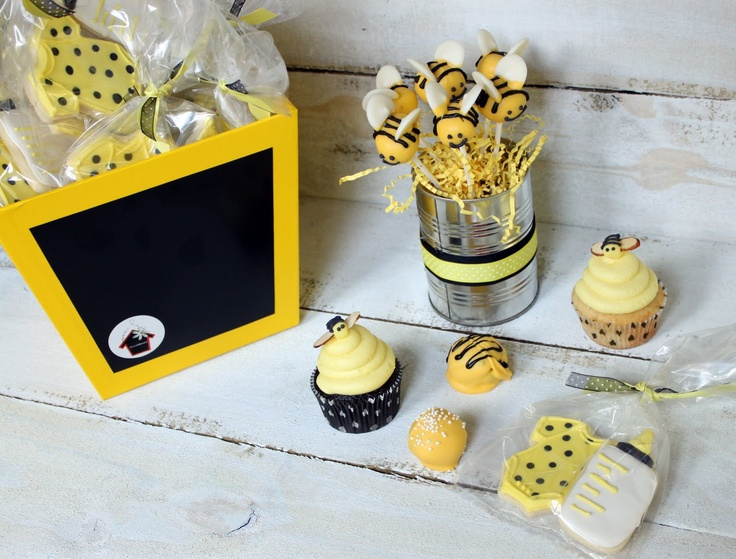 Bumble Bee Baby Shower Desserts