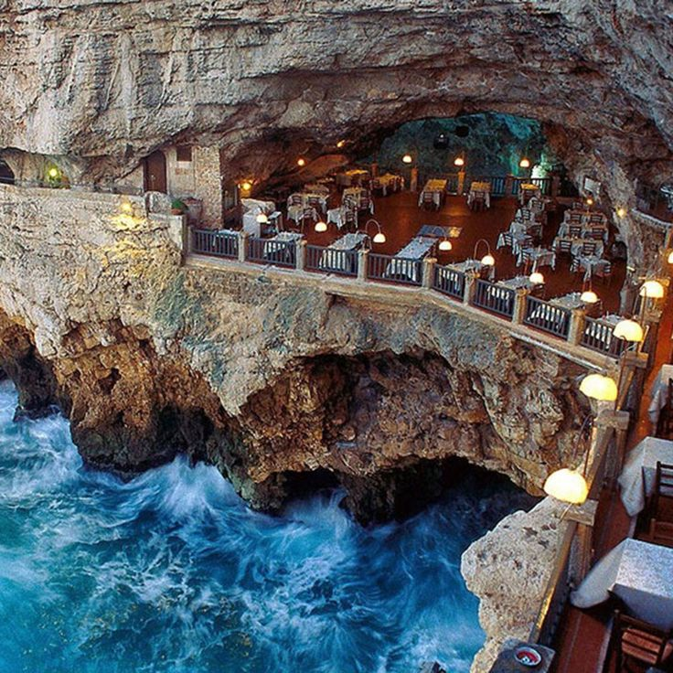 Restaurant with view