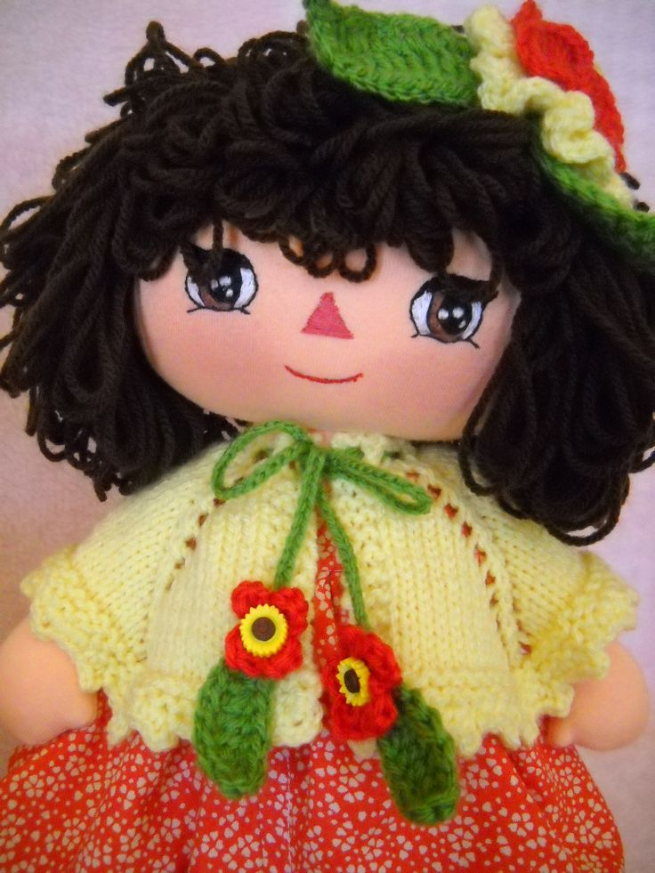 Maggie handmade dolls