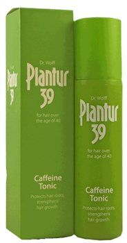Dr Wolff Plantur 39 Phyto-Caffeine Tonic Dr. Wolff Plantur 39 Caffeine Tonic For hair over the age of 40 Protects hair roots, strenghthens hair growth Before the menopause, hair roots are protected by high levels of female hormones (estogen) http://www.MightGet.com/january-2017-12/dr-wolff-plantur-39-phyto-caffeine-tonic.asp