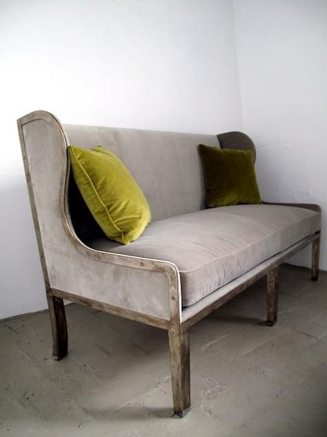 Furniture: Ixelles Settee from Casamidy : Remodelista   love settees!