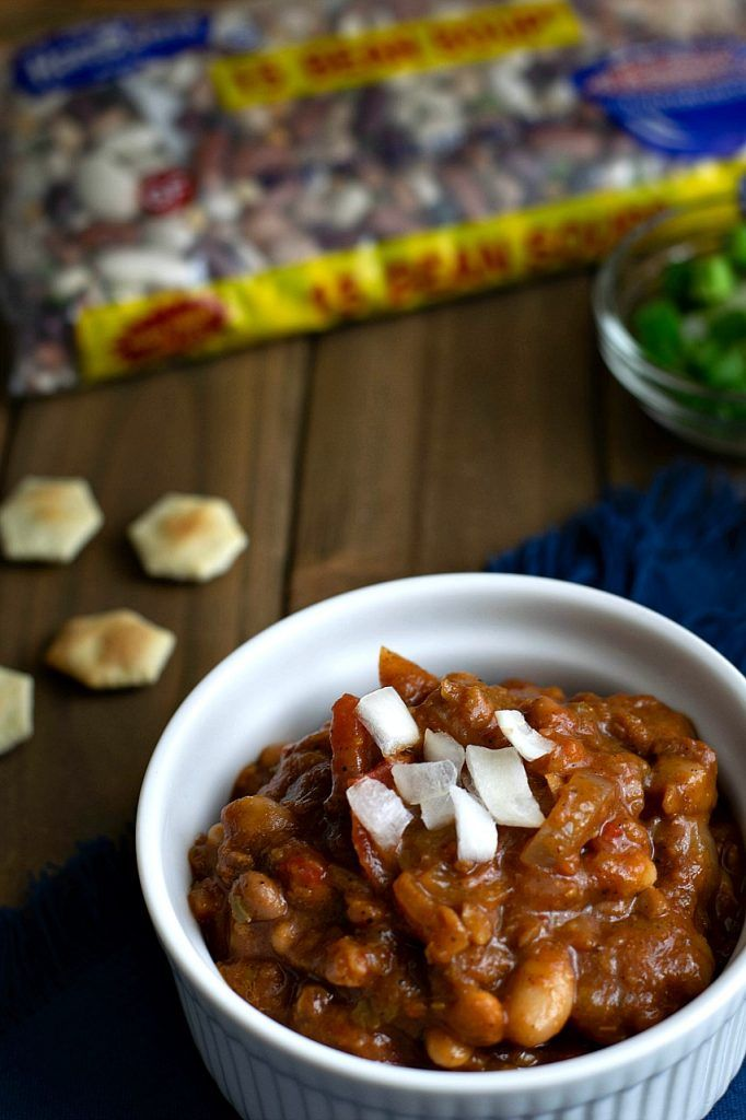 The Best Vegan 15 Bean Crockpot Chili Ever