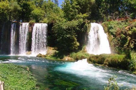 Die Düden Wasserfälle von Antalya - Steilküste & Tuffstein