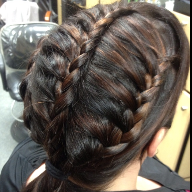 hair braiding styles images 22 best cathy s portfolio images on lounges 3575