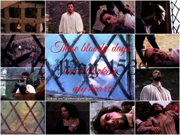 17 May 1536-Execution of George Boleyn , Mark Smeaton, William Brereton, Henry Norris and Francis Weston