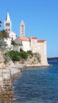 Stadt Rab, Insel Rab, Kvarner Bucht, Kroatien