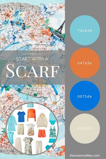 What to Pack for the Florida Gulf Coast? Start with a Scarf: Paris in the Spring by Echo