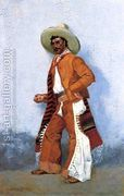 A Vaquero  by Frederic Remington