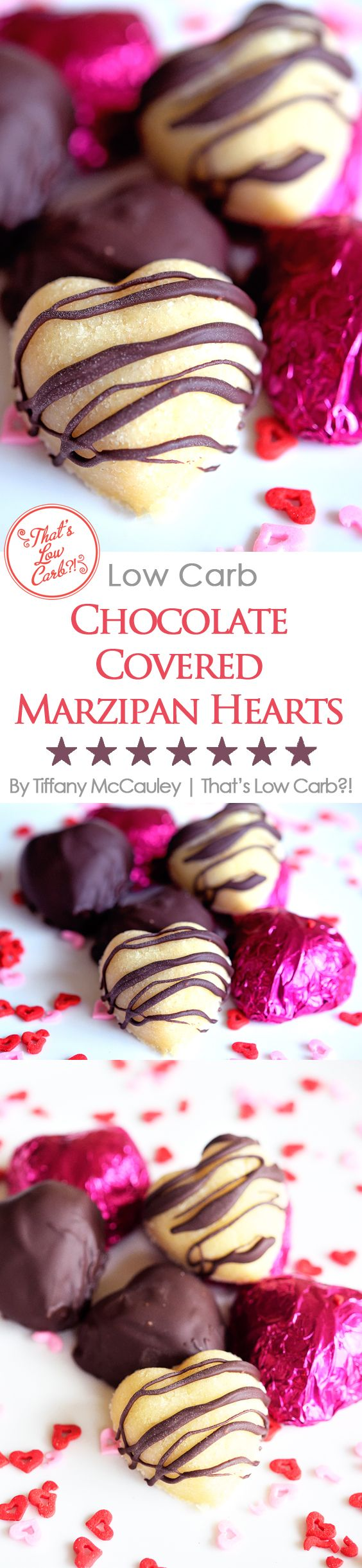 Low Carb Recipes | Low Carb Valentine's Day | Low Carb Marzipan | Low Carb Chocoalte | Low Carb Candy Recipes | Valentines Recipes