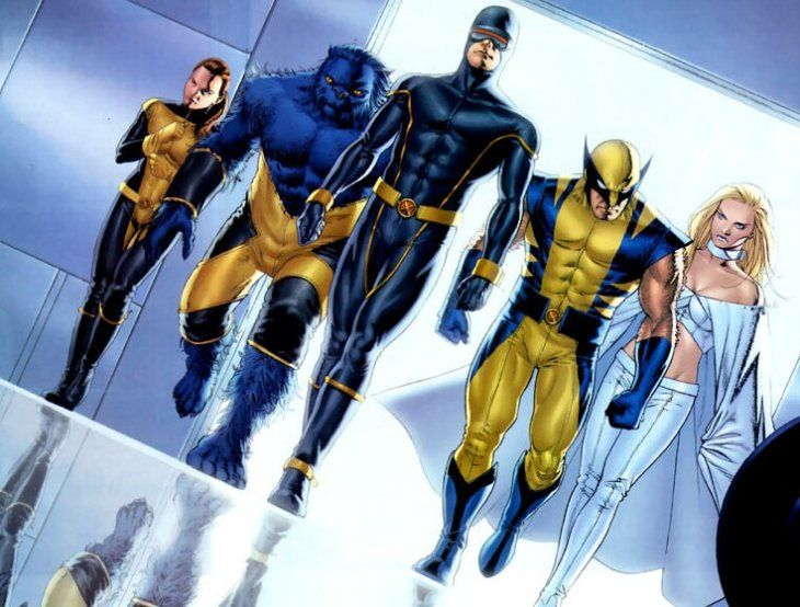 One of the most popular comic series that is based around a team of mutant superheroes in the Marvel Universe