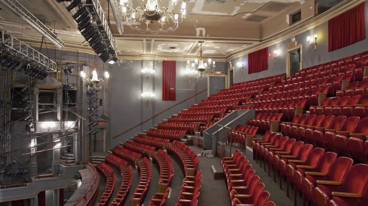 Nederlander Theatre - Rent | The Magic of Theater ...