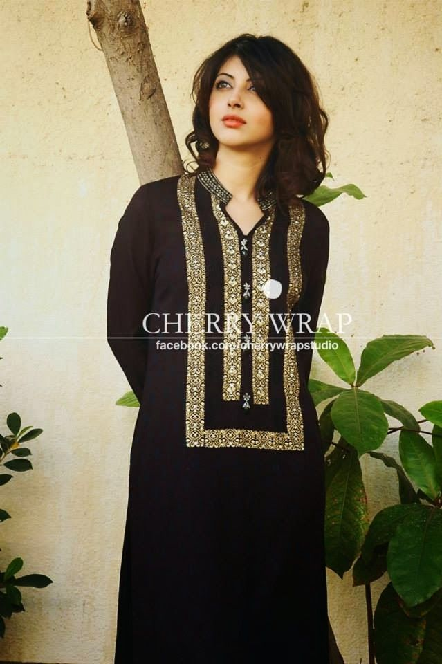 simple black dresses pakistani - Google Search