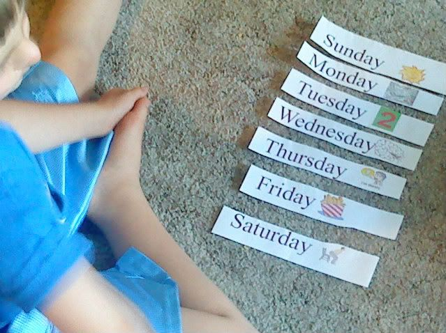 Teaching Calendar Skills to Special Needs Kids