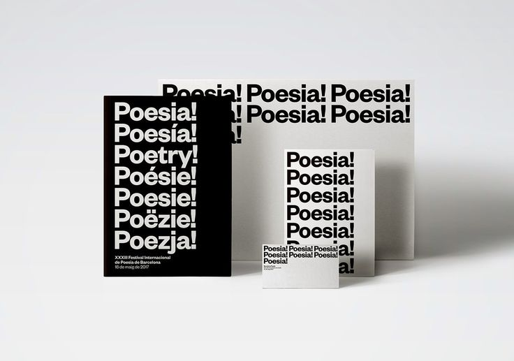 Barcelona Poesia by PFP, disseny gràfic http://mindsparklemag.com/design/barcelona-poesia/