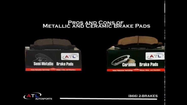We list the detailed pros and cons of Metallic and Ceramic  brake pads. Have any questions? Let us know! sales@atlautosports.com