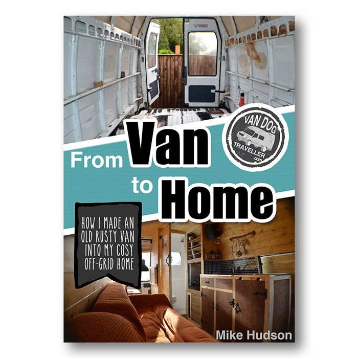 Learn how I converted this old rusty van into my off-grid home
