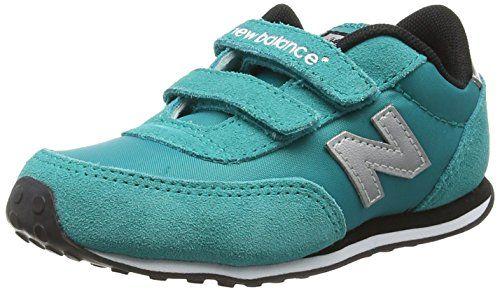 awesome New Balance KE410 Kids Lifestyle Velcro - Zapatillas de deporte para bebés niñas, color turquesa, talla 23