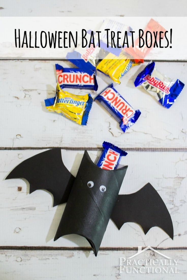 DIY Halloween Bat Treat Boxes halloween diy halloween halloween craft ideas kids halloween craft diy halloween decorations diy halloween crafts craft halloween party craft halloween party decor