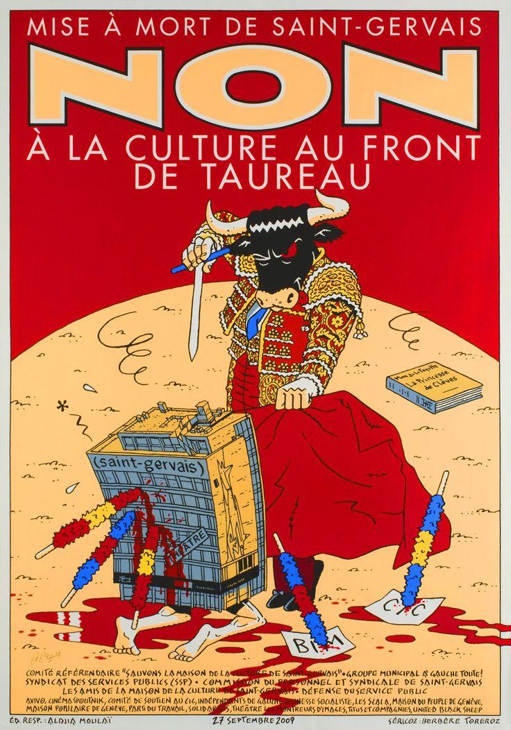 Mise à mort de Saint-Gervais, Non à la culture au front de taureau (2009)
