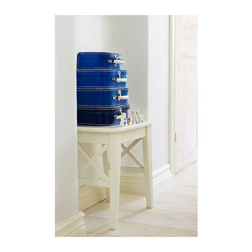 INGOLF Stool IKEA Solid wood is a durable natural material.
